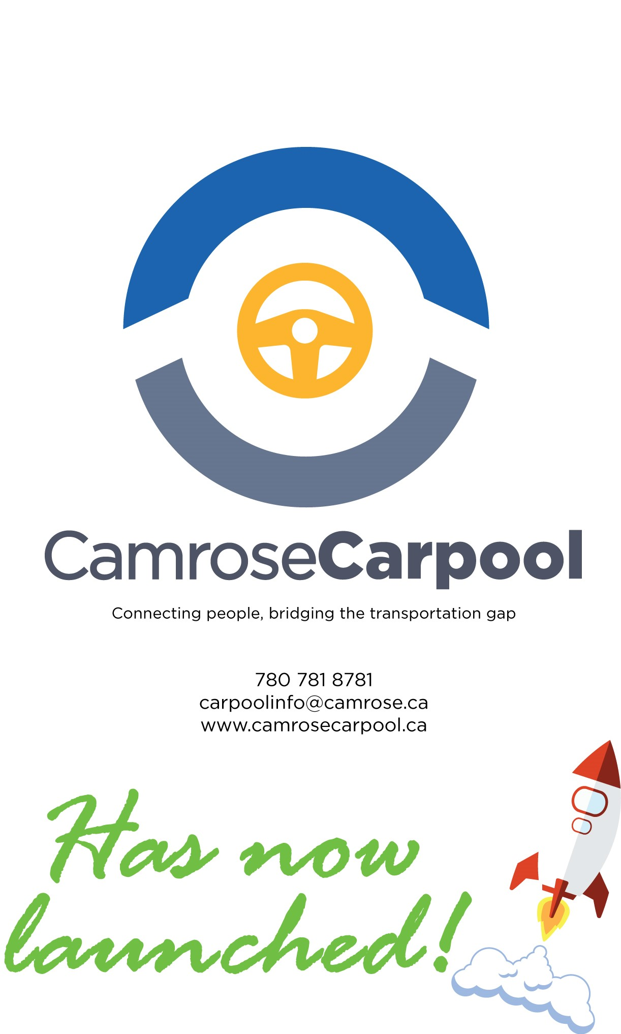 Camrose Carpool Launch Ad