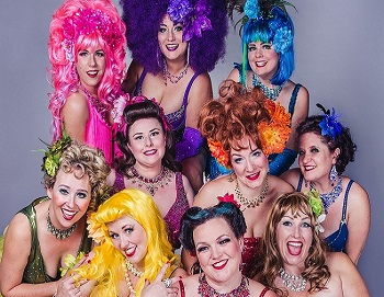 burlesque troupe