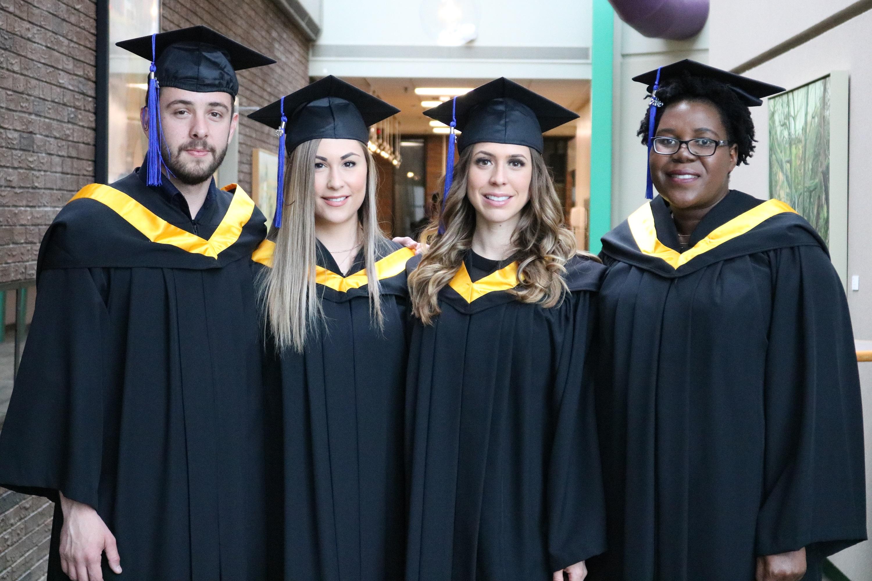 BSc Env graduates