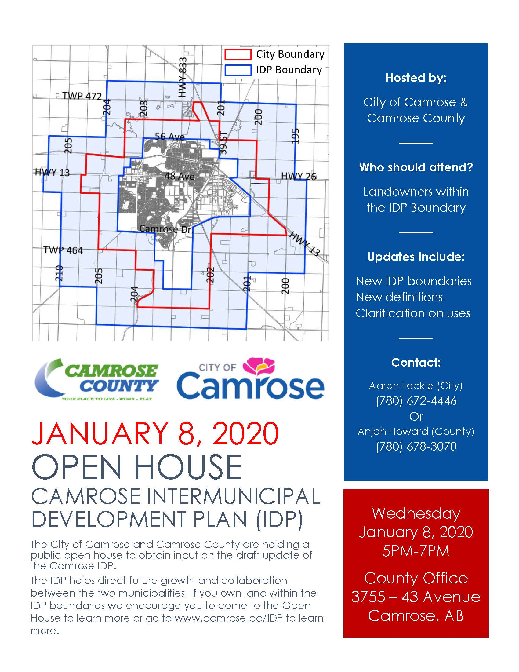 IDP Open House Ad