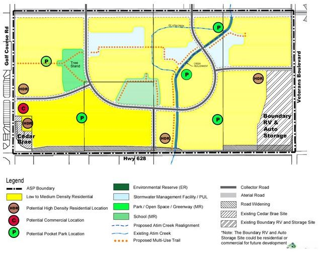 Tussic Area Structure Plan