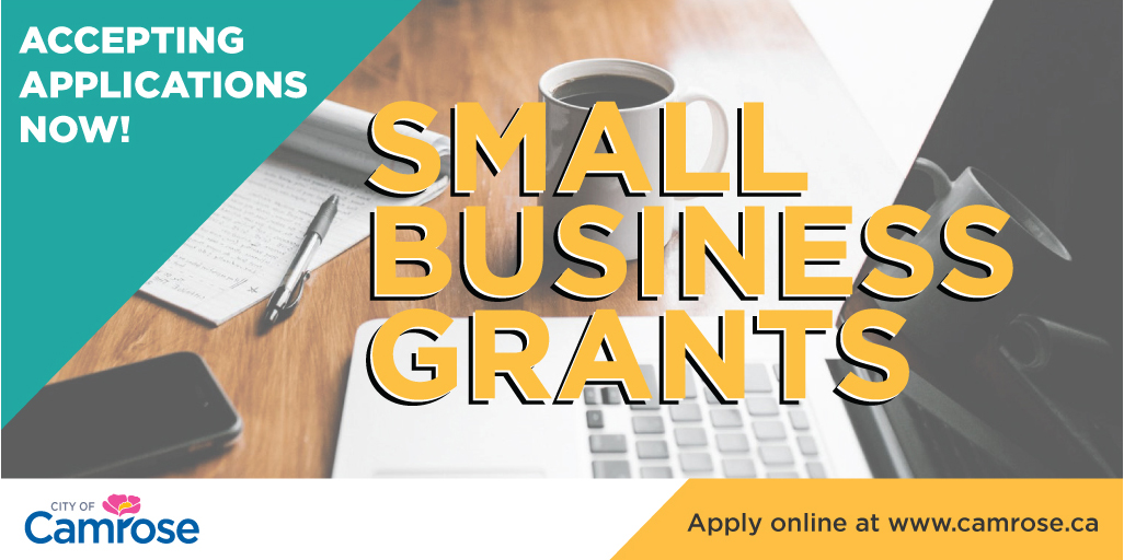 Small Business Grants Graphic